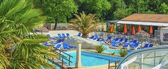 camping with pool in Charente Maritime